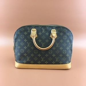 Preowned Louis Vuitton Alma Monogram Canvas